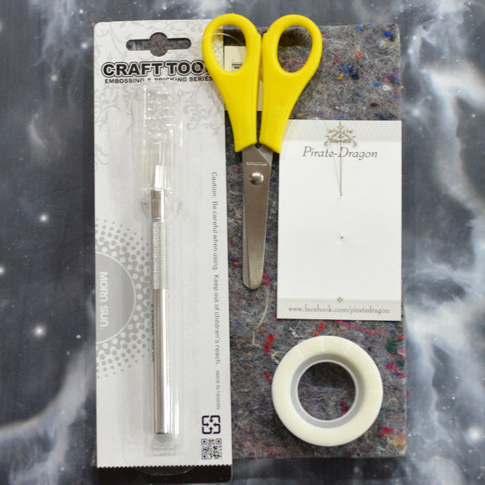 Card Embroidery Tools Starter Pack