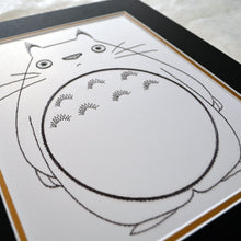 Load image into Gallery viewer, My Neighbour Totoro Inspired Card Embroidery Kit (White Card)