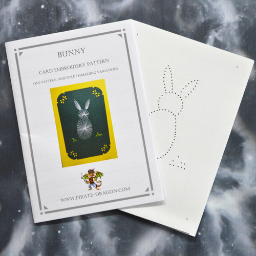 Bunny - Gift Card Embroidery Pattern