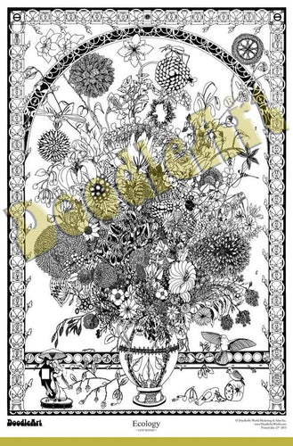 Ecology Doodle Art POSTER ONLY (24 x 34 inch)