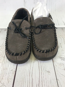 Tempur-Pedic Therman Slipper Moccasin Suede - The Denim House