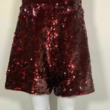 Load image into Gallery viewer, Guess Romper Red Wine Burgundy Size XL - The Denim House