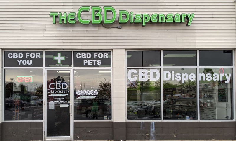 The CBD Dispensary Holland Location