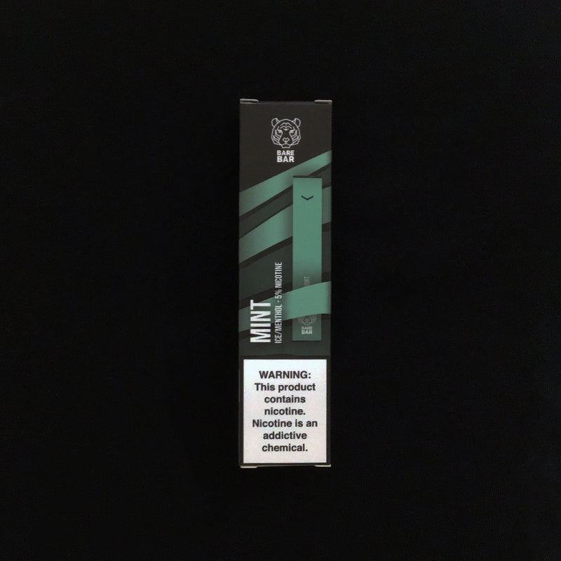 bare bar mighty mint disposable