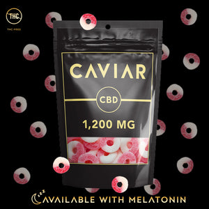 caviar watermelon rings 1200mg with melatonin