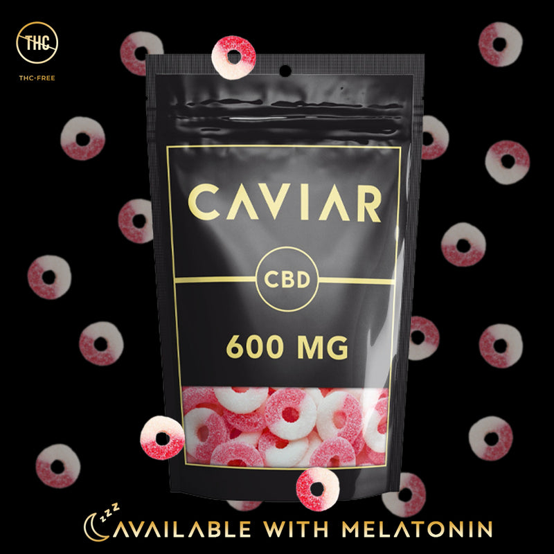 caviar watermelon rings 600mg with melatonin