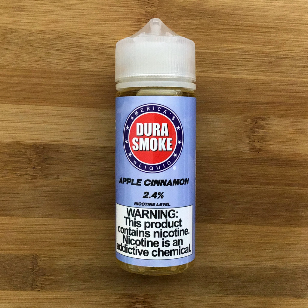 apple cinnamon eliquid by durasmoke 24mg