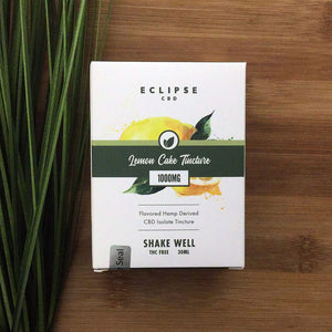Eclipse CBD lemon cake tincture 1000mg