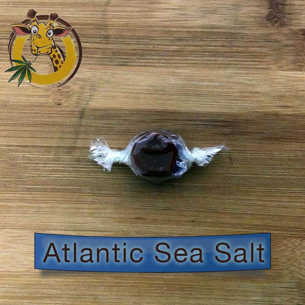 Atlantic sea salt caramel 30mg cbd giraffe nuts
