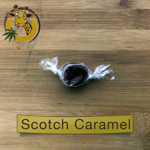 giraffe nuts cbd infused caramel 30mg scotch