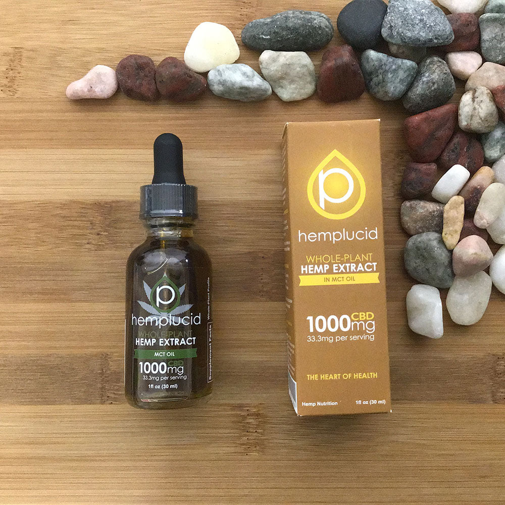 hemplucid hemp oil with mct 1000mg