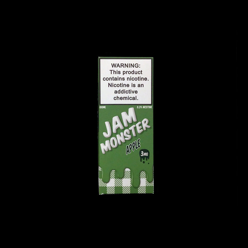 jam monster 100ml eliquid Apple 3mg box