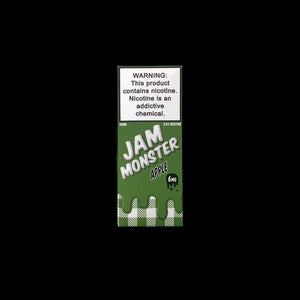 jam monster 100ml eliquid Apple 6mg box