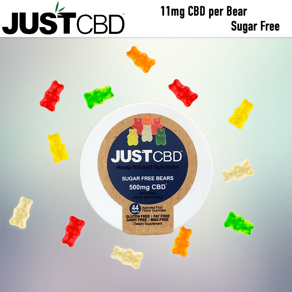 Just CBD sugar free gummies 500mg