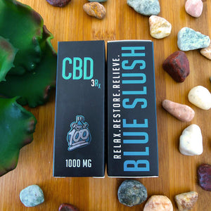 blue slushie cbd vape juice by keep it 100 1000mg