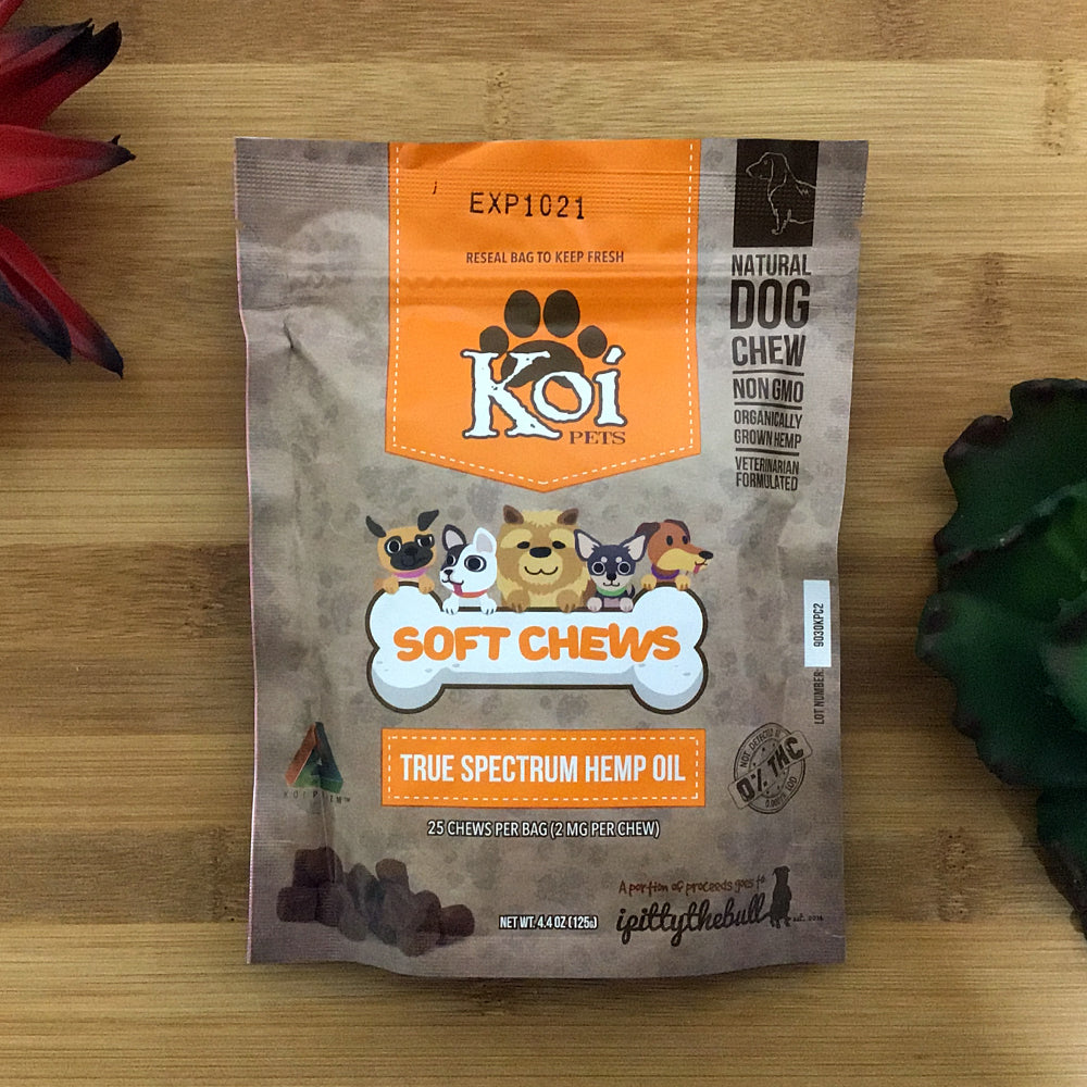 koi broad spectrum soft chews