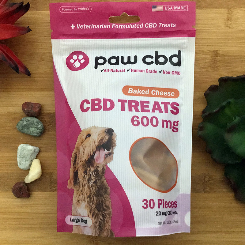 paw cbd baked cheese 600mg