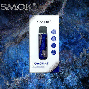 smok novo 2 kit blue stabilizing wood