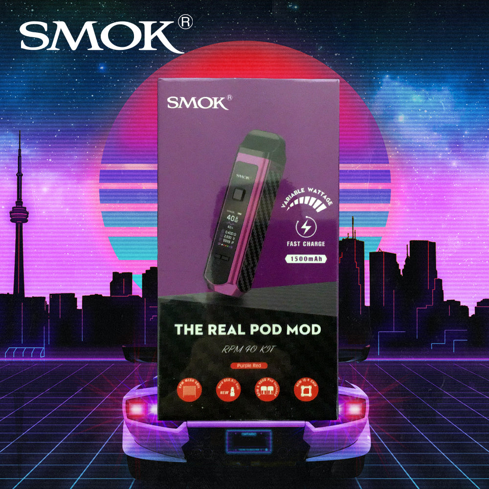 Smok rpm40 kit purple red