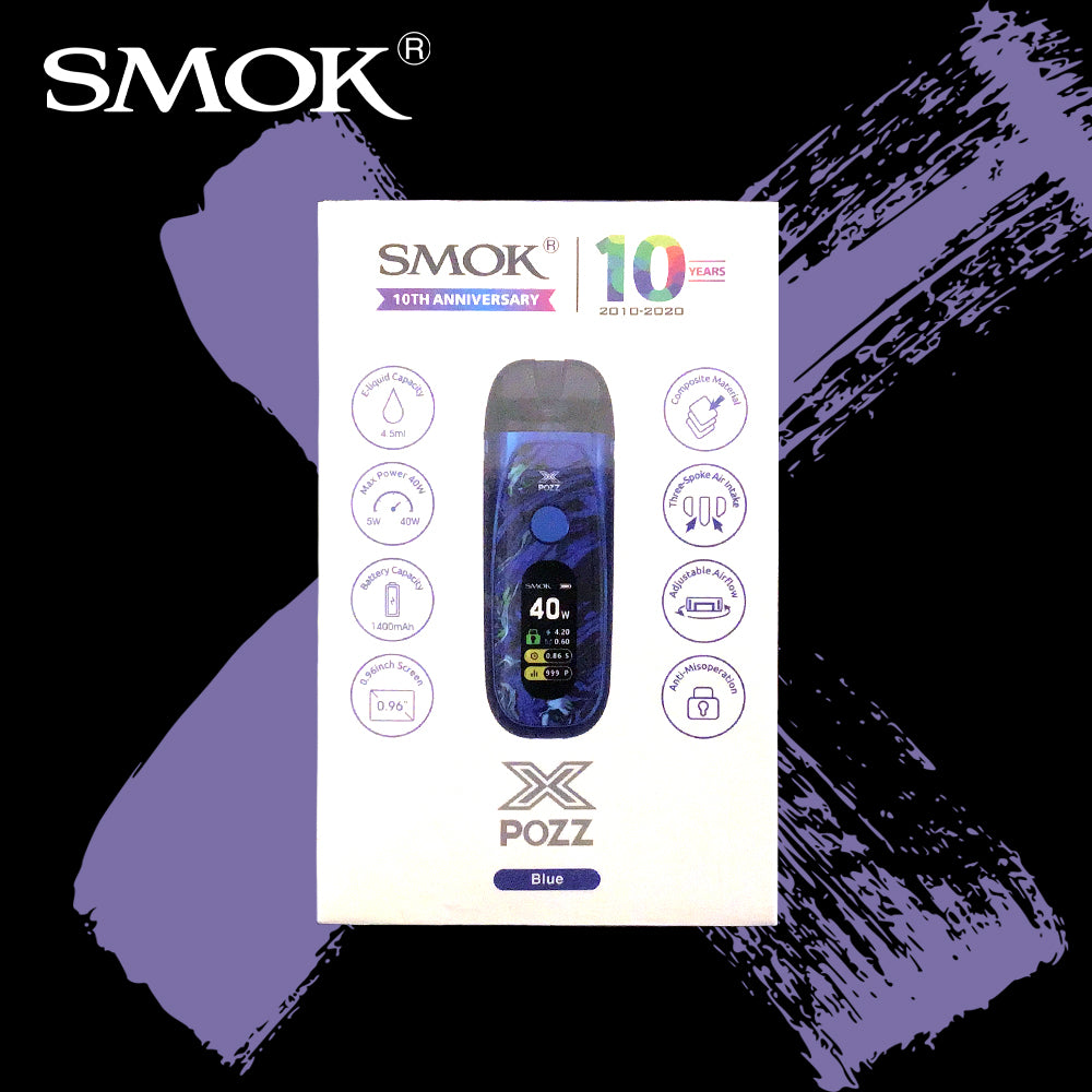 smok pozz x device blue