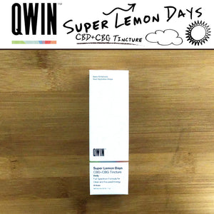 QWIN | Super Lemon Days Drops with CBG 1100mg