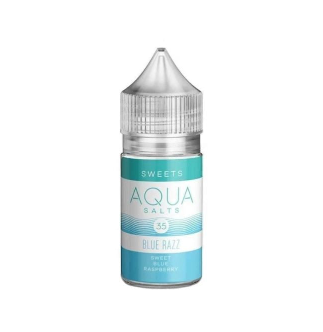 Aqua blue razz salts 30ml