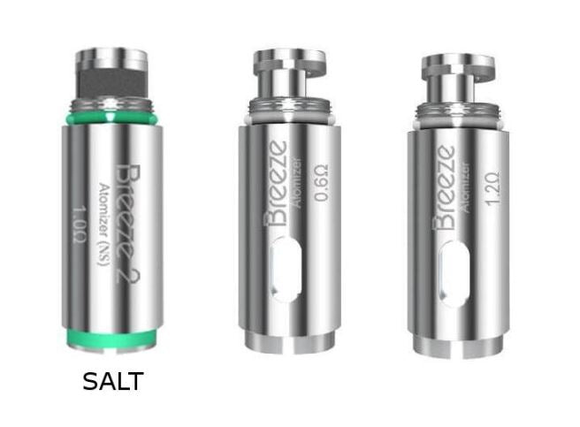 aspire breeze coils types