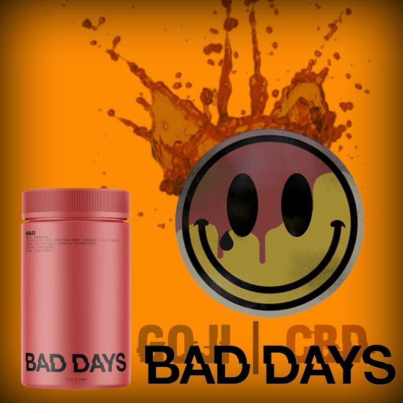 bad days cbd gummies goji