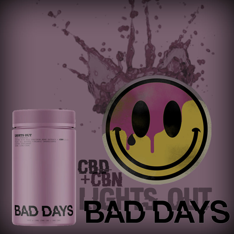bad days lights out full spectrum cbd gummies with cbn