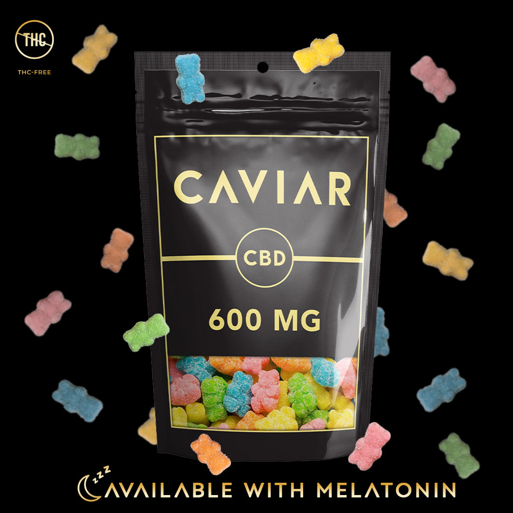 caviar neon bears 600mg with melatonin