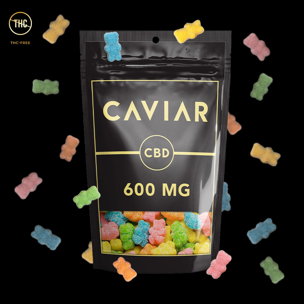 caviar neon bears 600mg