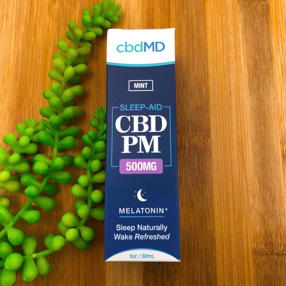 cbdmd sleep aid mint 500mg