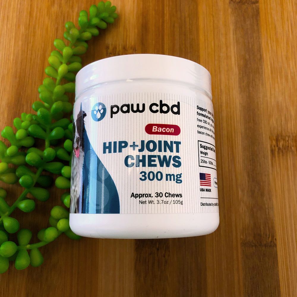 Paw CBD hip and joint chews