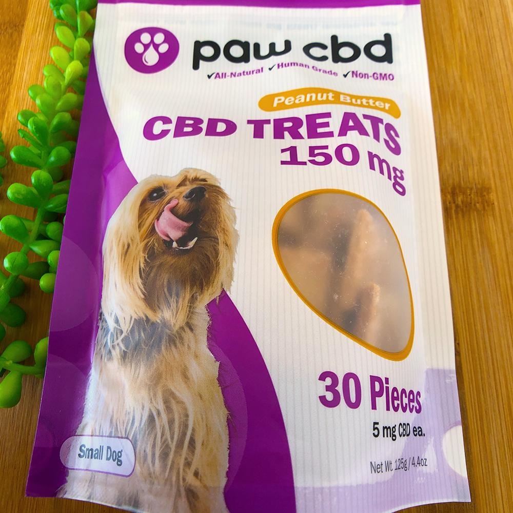 paw cbd dog treats 150mg