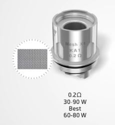 supermesh x2 coil .2 ohms 30-90w best at 60-80w