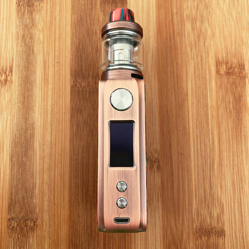 ijoy shogun jr. kit red copper hellfire front