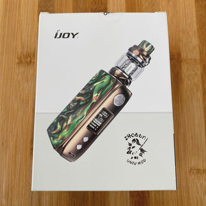 ijoy shogun univ 180w kit copper specter green box