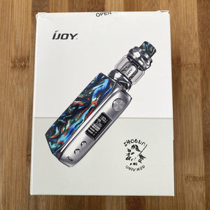 ijoy shogun univ 180w kit steel ghostfire box