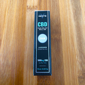ignite cbd roll on calm lavender 1000mg