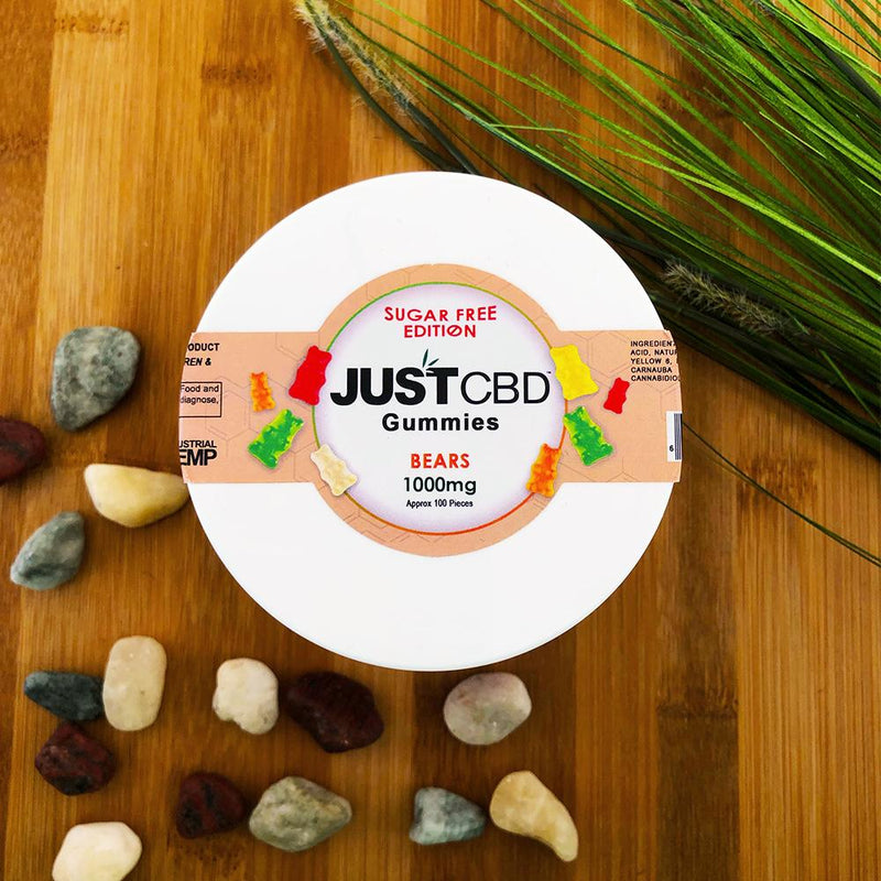 justCBD sugar free gummies 1000mg