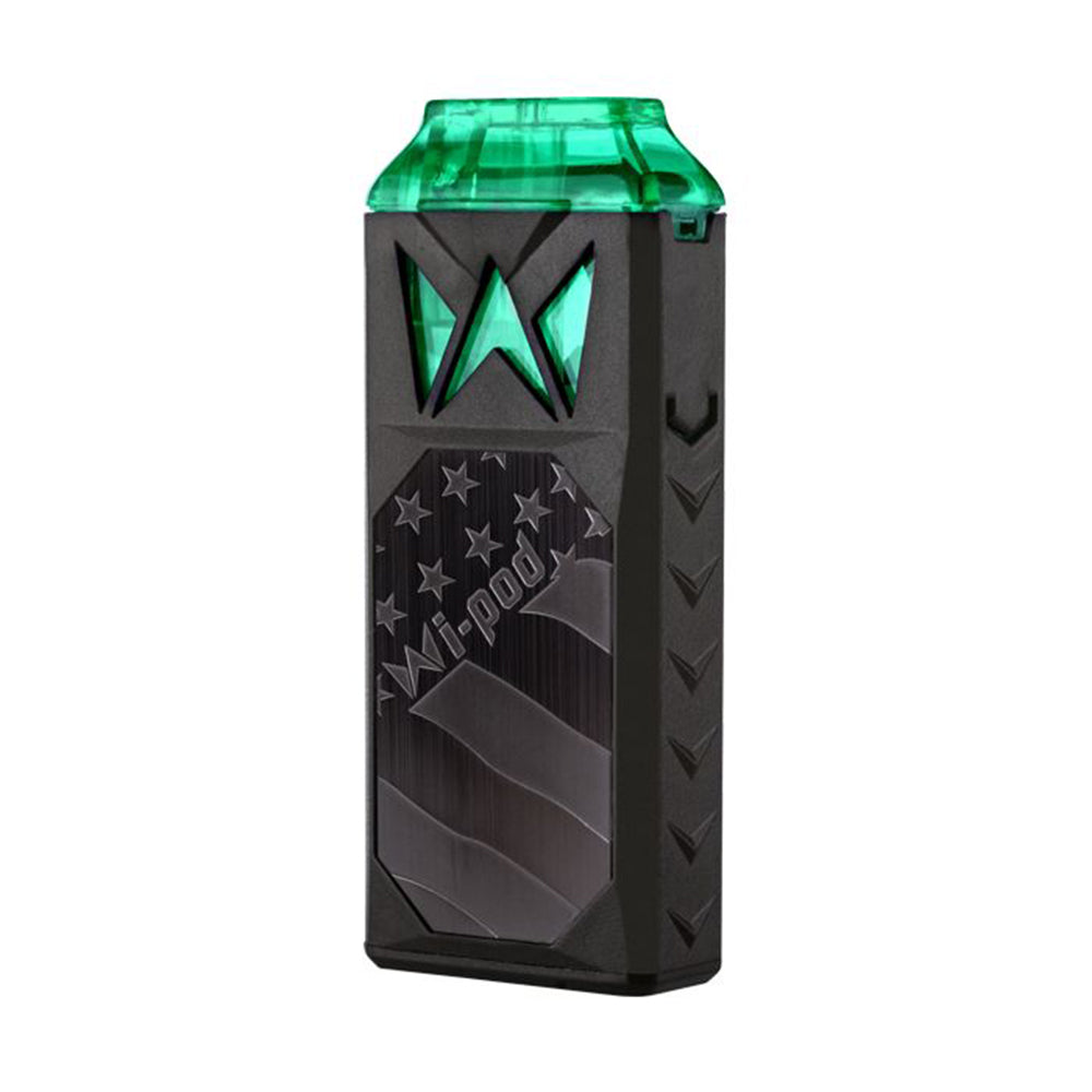 smoking vapor wi pod device black