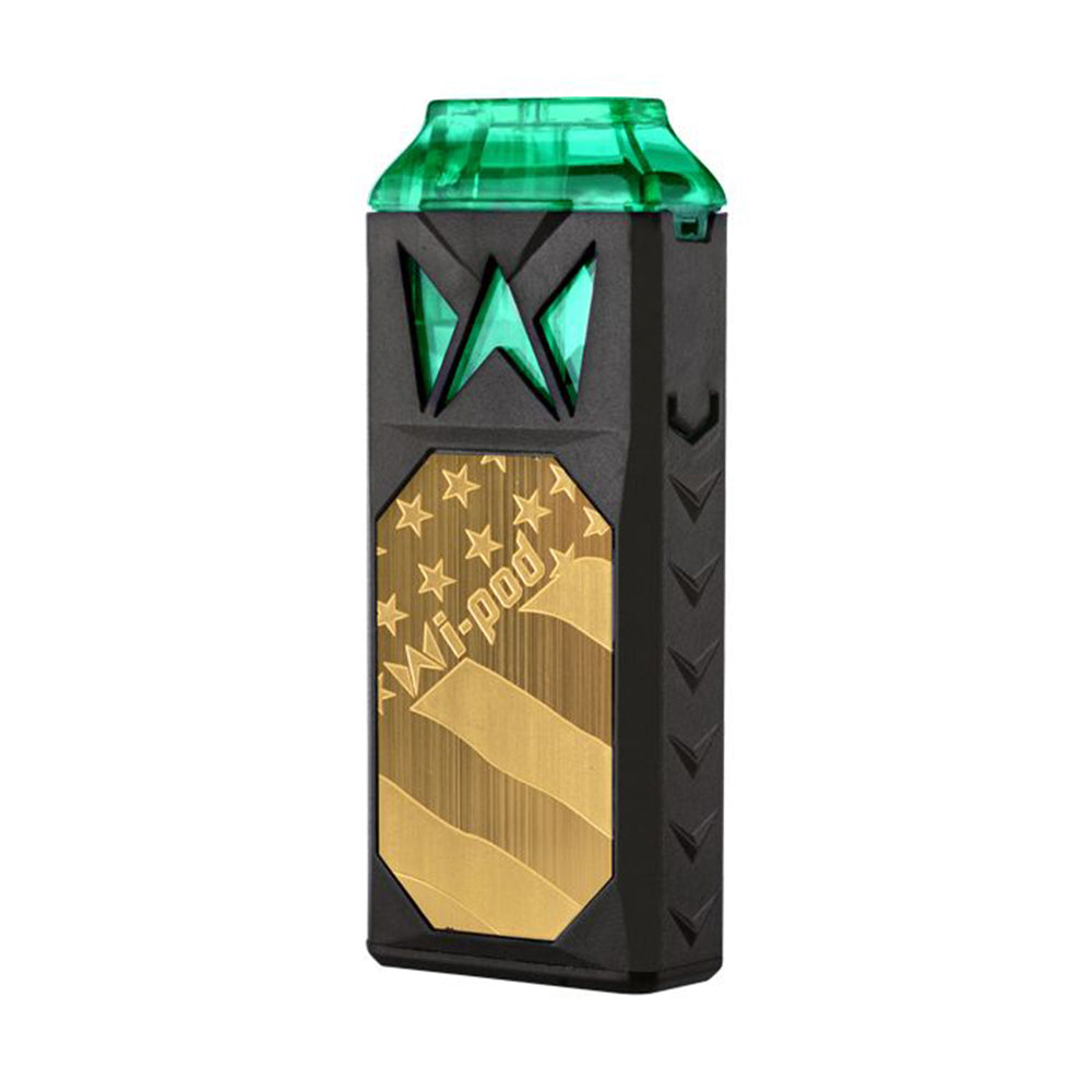 smoking vapor wi pod device gold