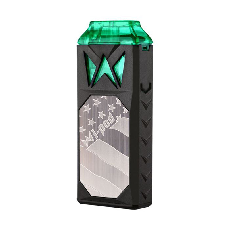 smoking vapor wi pod device silver