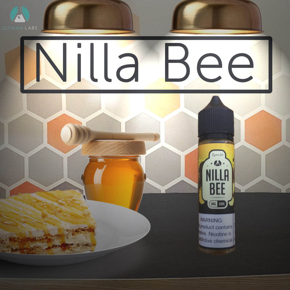 nilla bee eliquid 60ml by elysian labs 0mg