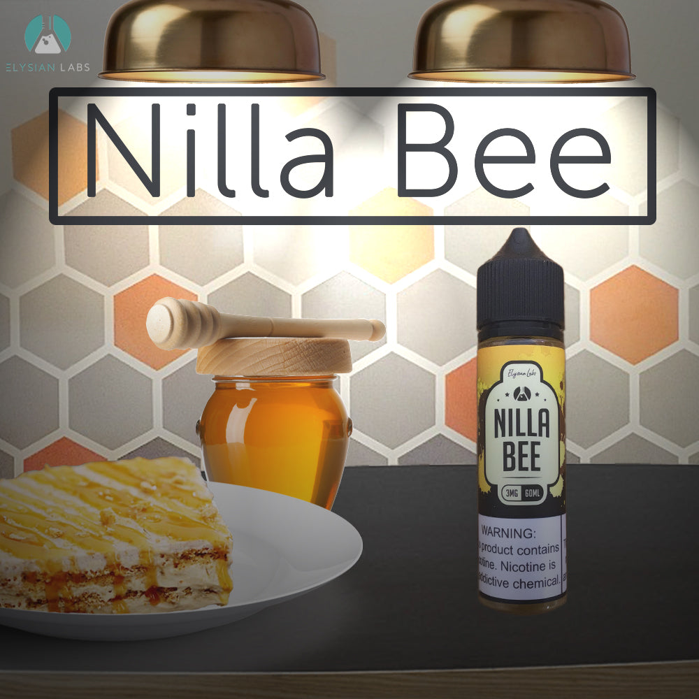 nilla bee eliquid 60ml by elysian labs 3mg