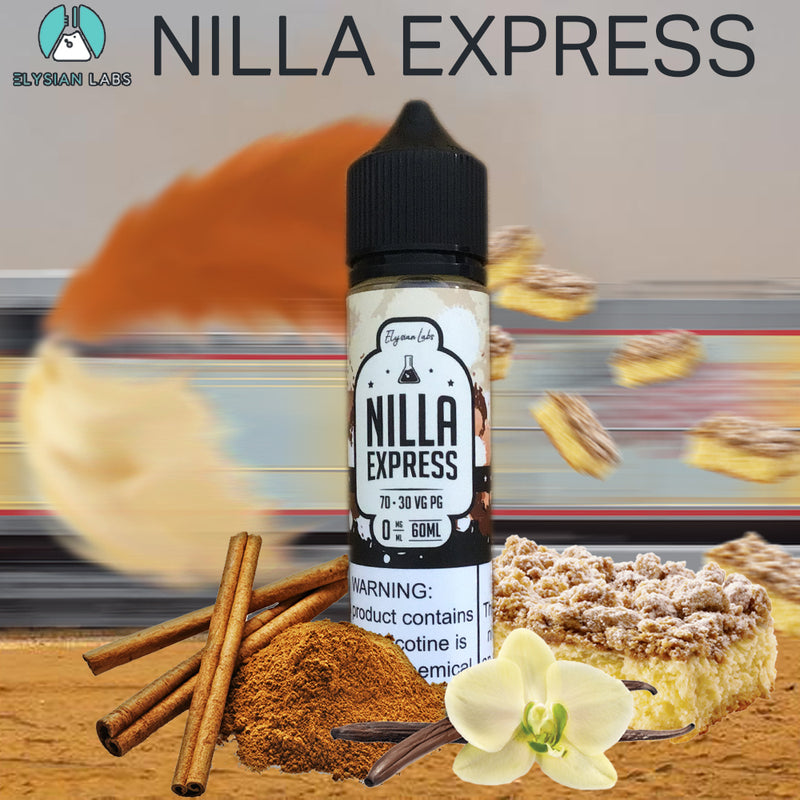 nilla xpress coffee cake eliquid 60ml 0mg
