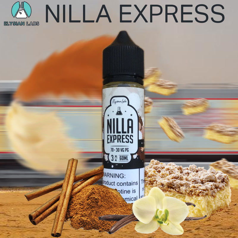 nilla xpress coffee cake eliquid 60ml 3mg