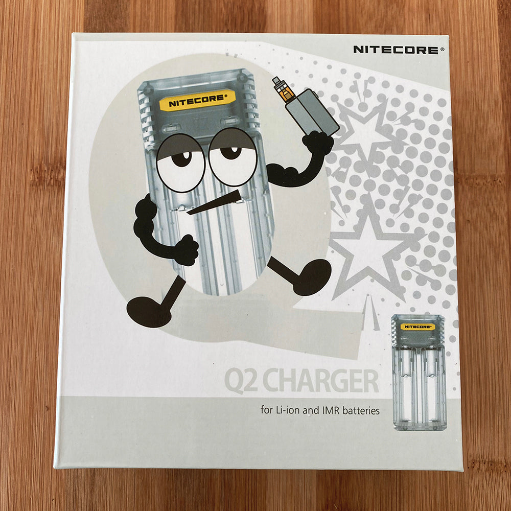 Nitecore Q2 Charger box
