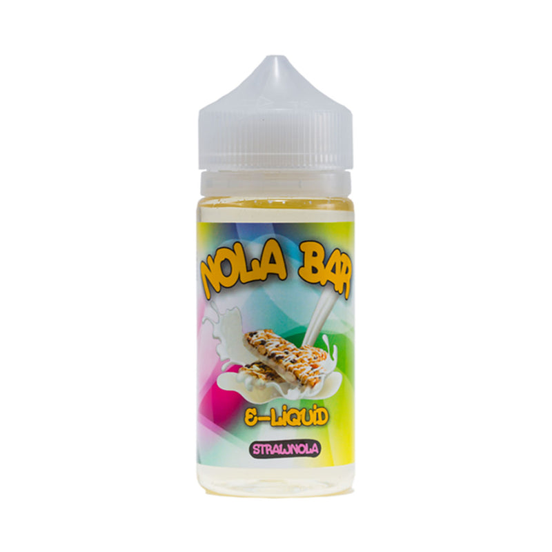 Nola bar e-liquids strawnola 100ml