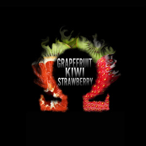 Grapefruit Kiwi Strawberry E-Liquid.